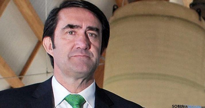 El titular de Fomento y Medio Ambiente, Fernando Suárez Quiñones./SN