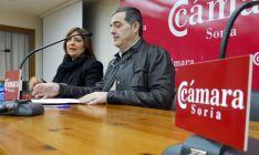 María Luisa Aguilera y Albeto Santamaría este martes. /SN