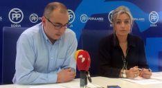 Bermejo y Marín este martes en rueda de prensa.