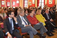 Representantes políticos asistentes al acto en el Casino. /SN