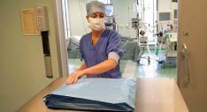 Personal sanitario en un hospital. /SN