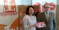 Lourdes Andrés y Jesús Muñoz este miércoles.