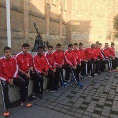 Imagen de algunos de los jóvenes atletas del CAEP Soria. /SN