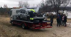 Imagen del vehículo siniestrado. /SN