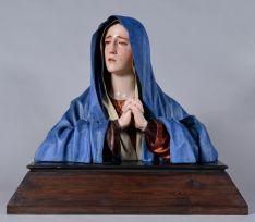 Imagen de la talla restaurada/ JCYL