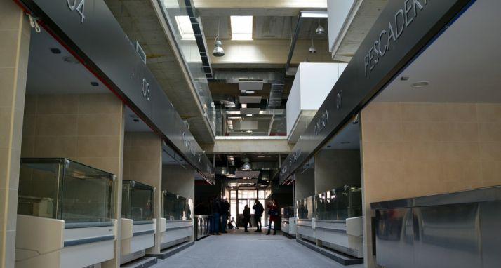 Uno de los pasillos del mercado esta semana. /SN