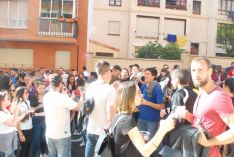 Ambiente en la cuadrilla de Santiago./SN