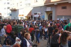 Ambiente en la cuadrilla de San Juan . /SN