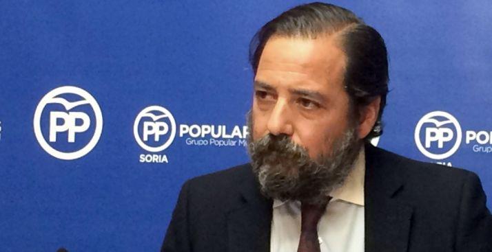 El concejal del PP, José Manuel Hernando.
