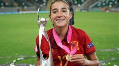 La futoblista Lucía Rodríguez./CDN