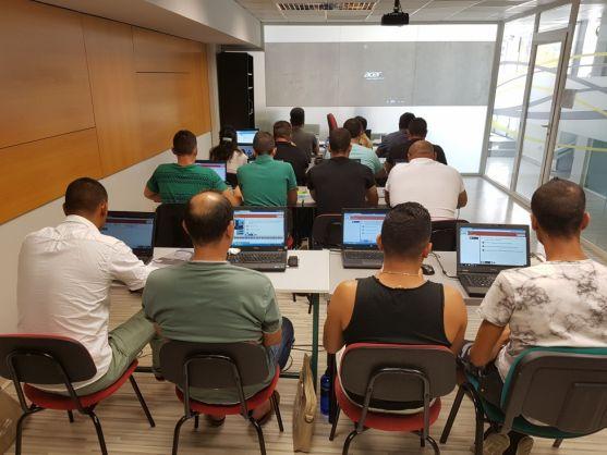 Curso de formación para desempleados.