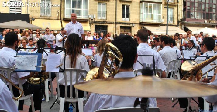 La Banda en una actuación./SN