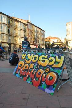 Imagen de la jornada solidaria./SN