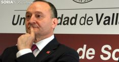 Daniel Miguel, rector de la UVa./SN