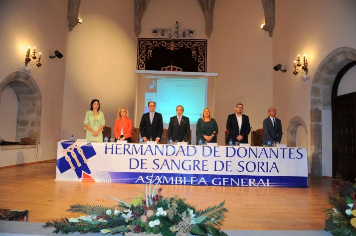 Asamblea de los Donantes de Sangre de Soria.