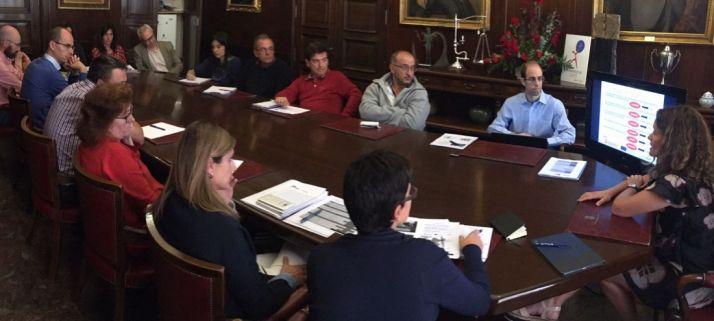 Reunión de coordinación Soria Intramuros este lunes./Ayto.