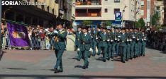 Una imagen del desfile de la Guardia Civil este jueves./SN