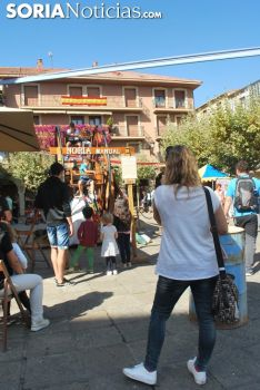 Una imagen del Mercado Medieval este viernes./SN
