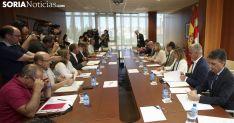 Reunión de los agentes implicados en el Plan el pasado julio./SN