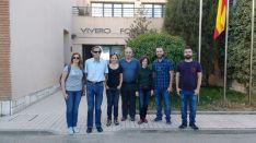 Visita de la delegación libanesa. /Junta