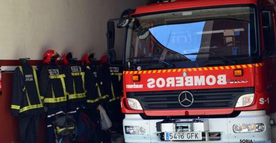 Parque de bomberos de Soria.