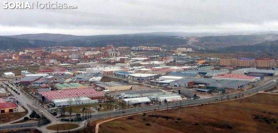 Vista aérea del polígono industrial de Las Casas, en la capital./SN