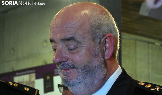 Jorge Zurita, este lunes en Soria. /SN