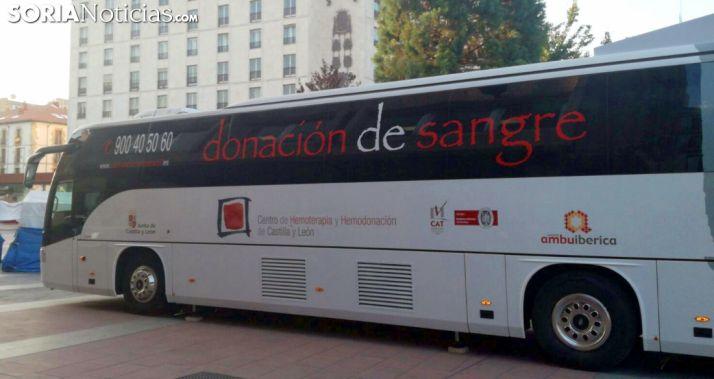 El autobús esta mañana de viernes./SN