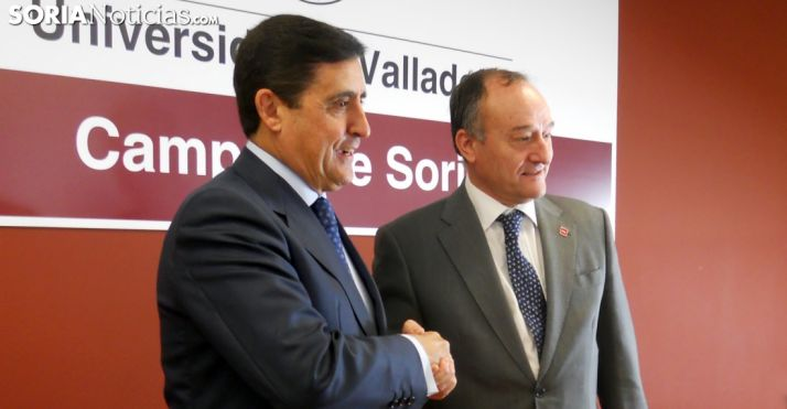 Carlos Martínez Izquierdo y Daniel San Miguel este lunes. /SN