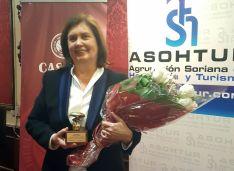 María Luisa Banzo este martes en la gala de premios.