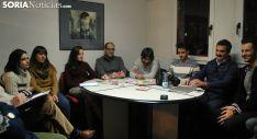 Primera reunión con futuros nuevos colaboradores de la plataforma. /SN