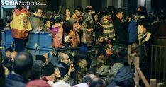 Miembros del público en el rito medinense este sábado. /SN