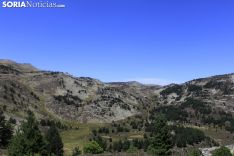 Los Picos de Urbión, desde la Laguna Negra.