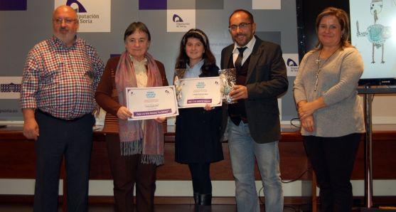 Amancio Martínez, Inés Unanua, Claudia González, Luis Rey y Esther Pérez.