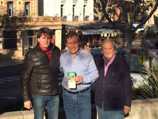 Carlos Martínez, Jacques Manya y Jesús Bárez. /Ayto.