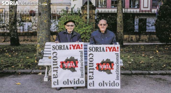 Goyo Alonso (izda.) y Goyo Sanz, los dos rostros más visibles de la plataforma. /SN