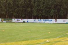 La Arboleda, estadio del Almazán.