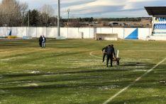 Almazán y Becerril empataron a uno en La Arboleda.