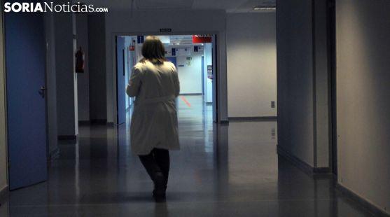 Imagen de un pasillo del hospital Santa Bárbara. /SN