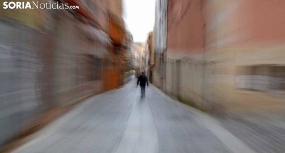 Imagen de la calle Zapatería, en el casco antiguo de la capital. /SN