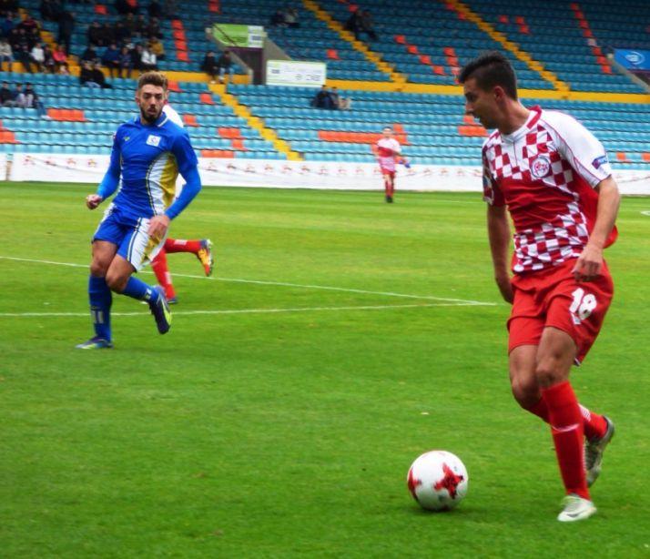 Castilla y León ganó a Canarias (0-1) en el Helmántico de Salamanca.
