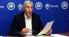 Alberto Rodríguez, concejal del PP en el Ayuntamiento de Soria.