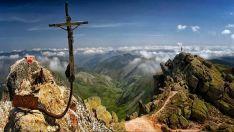 En lo alto de los picos de Urbión.