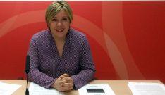 Judith Villar, este viernes en rueda de prensa.