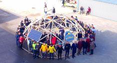 La cúpula geodésica llevada a cabo en 2017