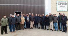 La visita de los senadores con autoridades locales y provinciales a Olmillos la pasada semana.