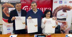Moreno (izda.), Santamaría y Martínez este viernes en la presentación del certamen. /SN