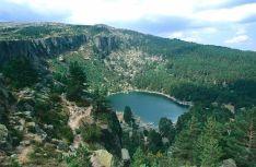Vistas de la Laguna Negra desde las alturas en Urbión.