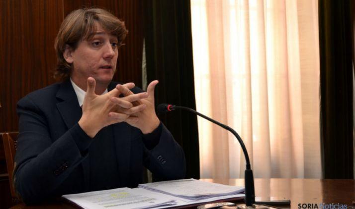 Carlos Martínez Mínguez, en rueda de prensa. /SN