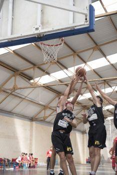 Partido del CSB en el Campeonato Autonómico de Baloncesto. CSB.